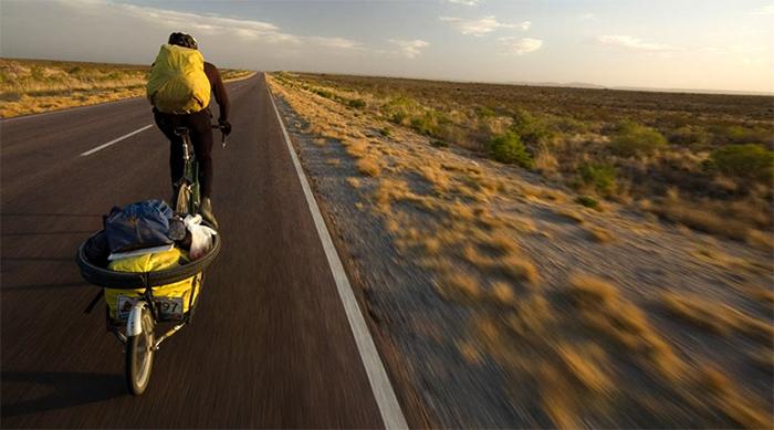 Трудности путешествия на велосипеде