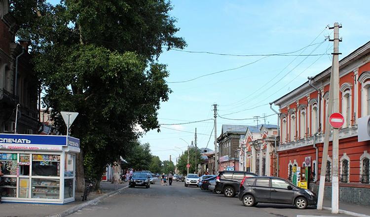 Улица Барнаула