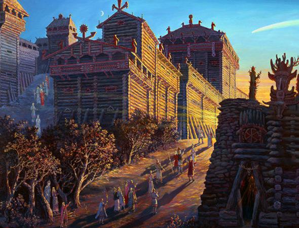В древнерусском государстве