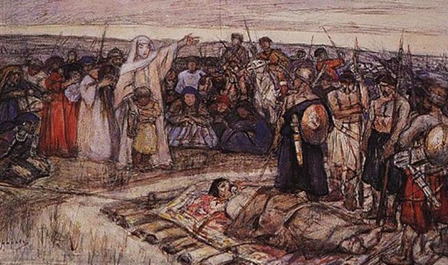 Восстание древлян