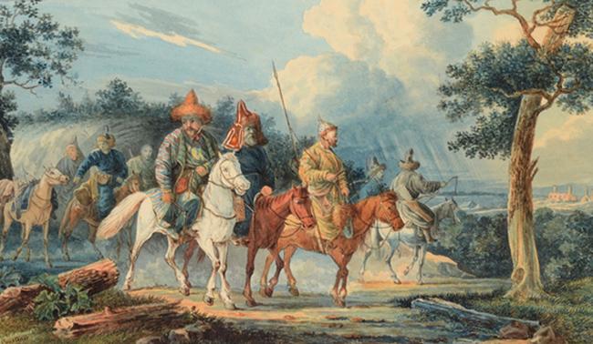 Во время башкирского восстания