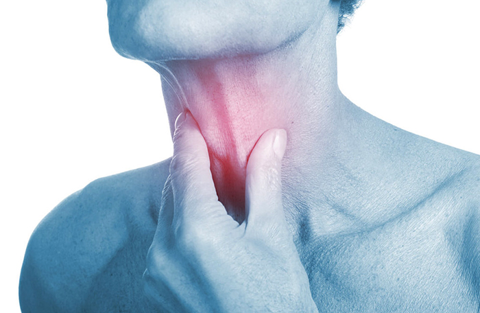 Боль в щитовидной железе
