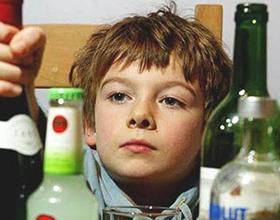 Детский алкоголизм, его причины и последствия