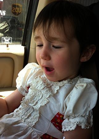 Девочка с гипотиреозом