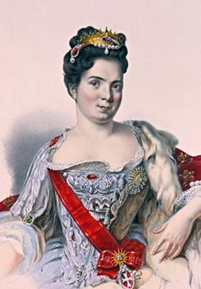 Императрица Екатерина 1