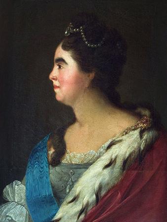 Екатерина 1 в профиль