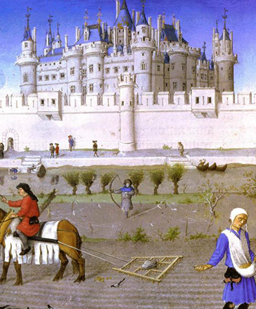 Дворец и крестьяне