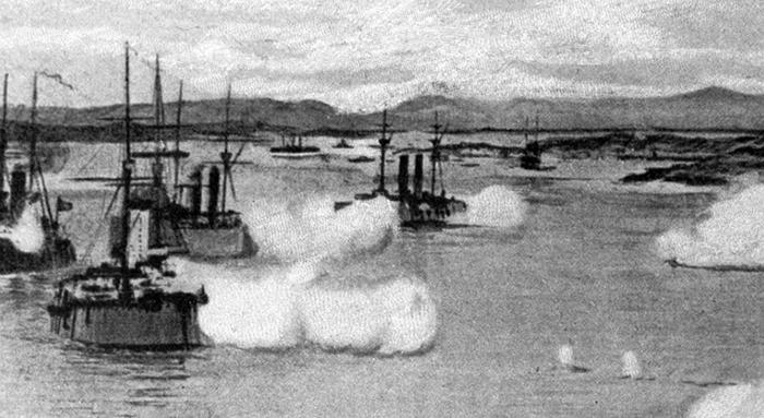 Флот во время войны