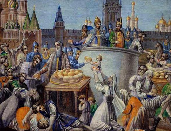 Перед голодом 1601-1603