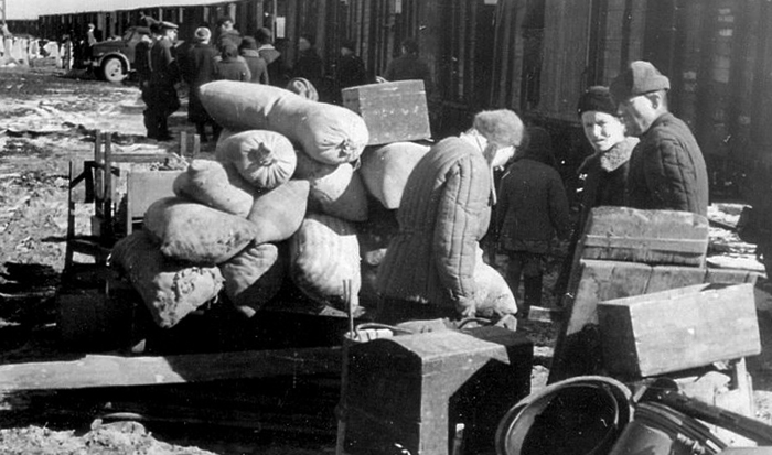 Во время голода 1946-1947