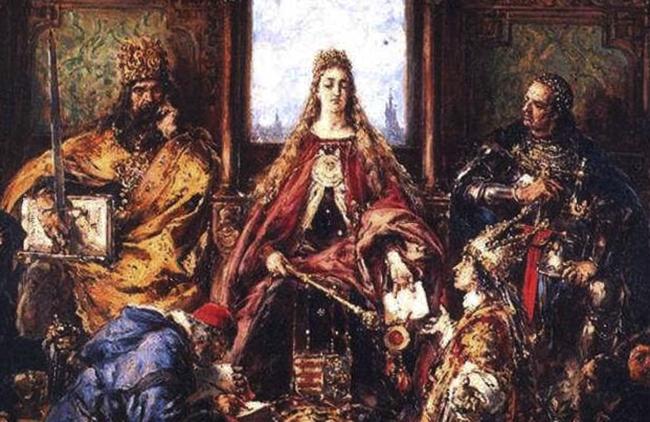 Ядвига на престоле