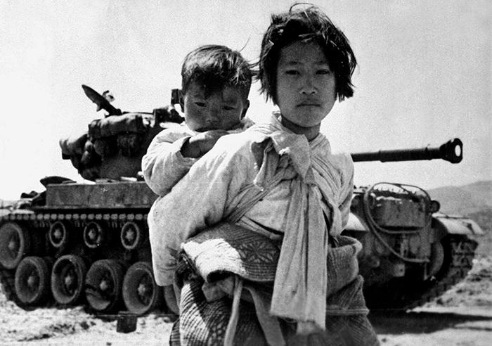 Во время Корейской войны