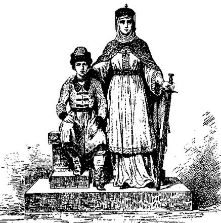 Святослав с мамой