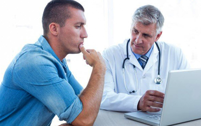 Пациент с наркологом