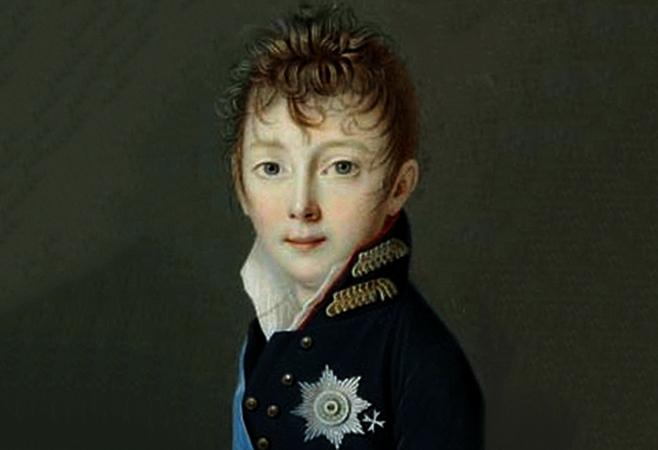 Николай 1 в детстве