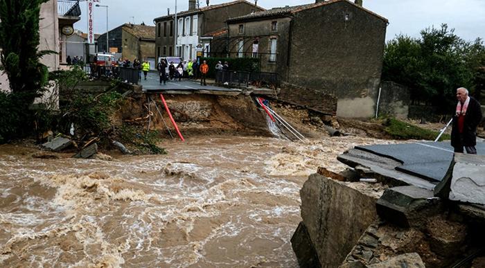 Наводнение после прорыва