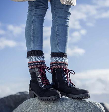 Носка тяжелой обуви