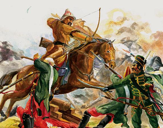 Бой во время восстания