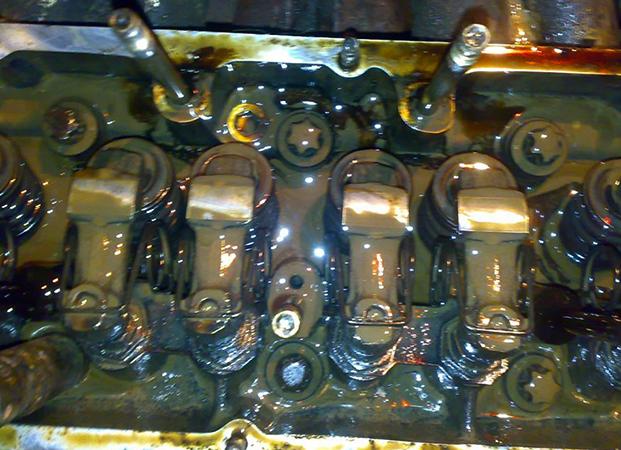 Попадание тосола в двигатель