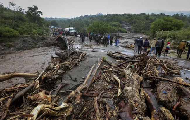 После наводнения