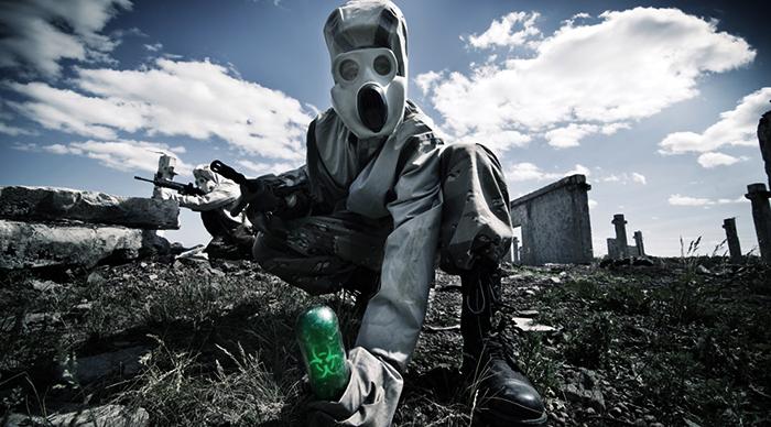 После применения биологического оружени