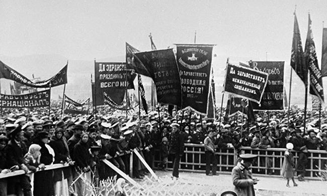 Прохождение революции в феврале 1917