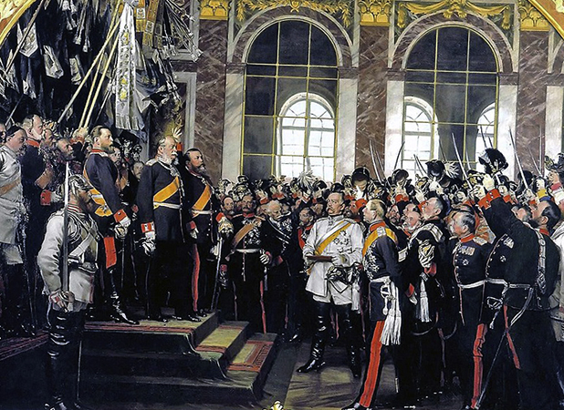Провозглашение объединенной Германии