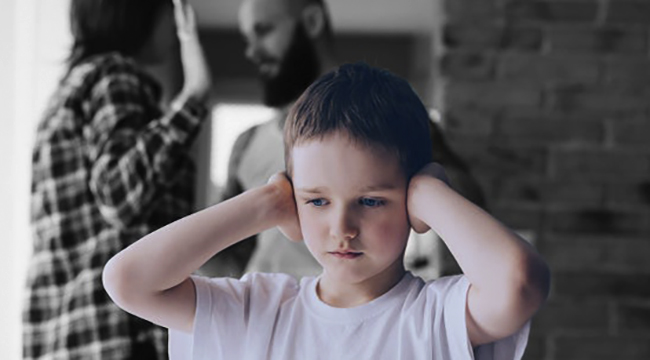 Травма психики у ребенка