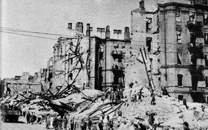 Разрушения от войны