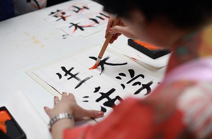 Рисование иероглифов