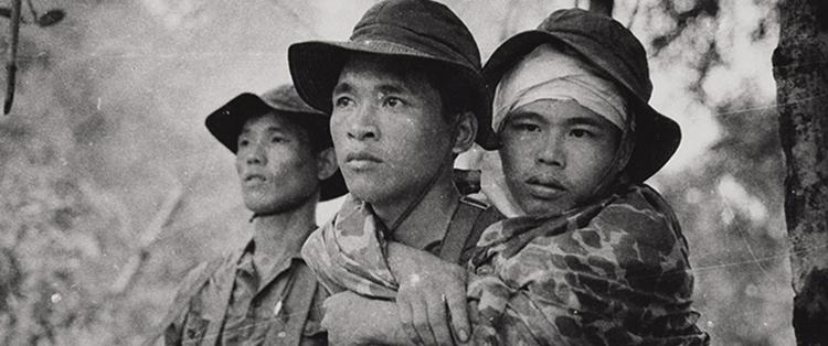 Солдаты во время Вьетнамской войны