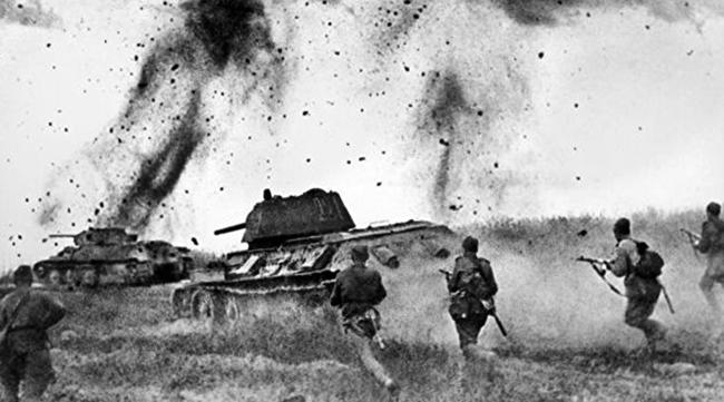 Сражение во время курской битвы