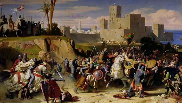 Сражение во время третьего крестового похода