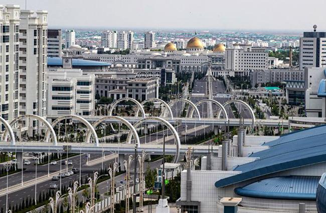 Столица Туркменистана