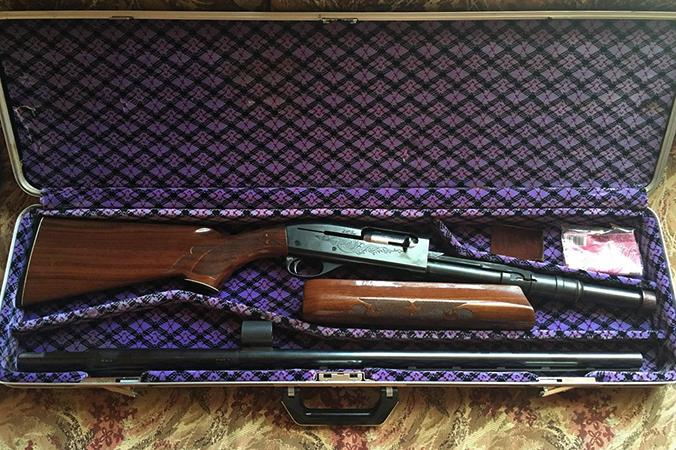 Вид ружья Remington 1100