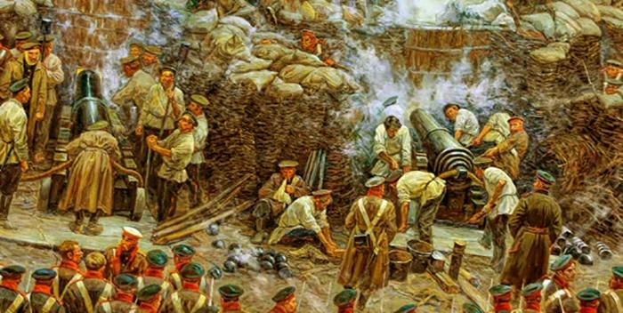 Во время Крымской войны
