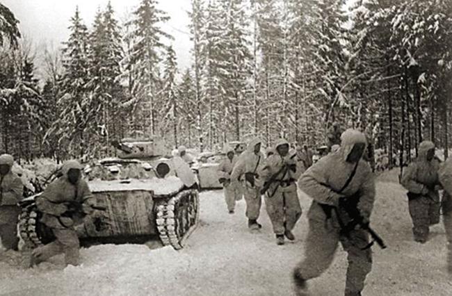 Во время Московской битвы