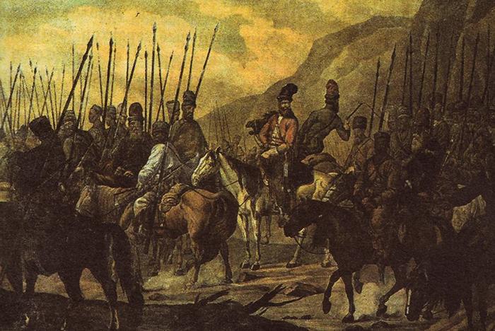 Во время восстания Булавина