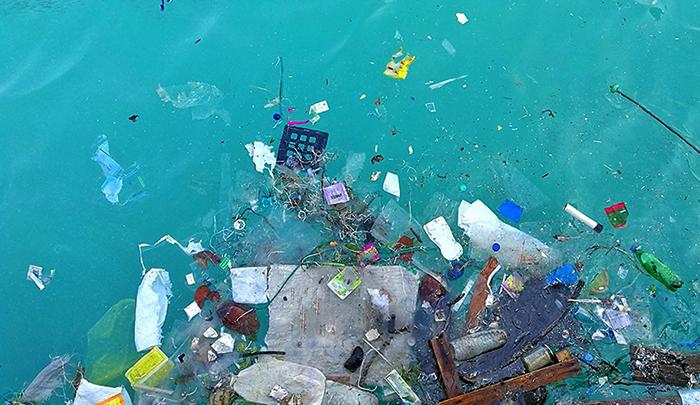 Загрязненный океан