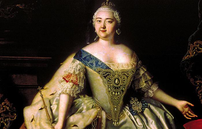 Императрица Елизавета Петровна