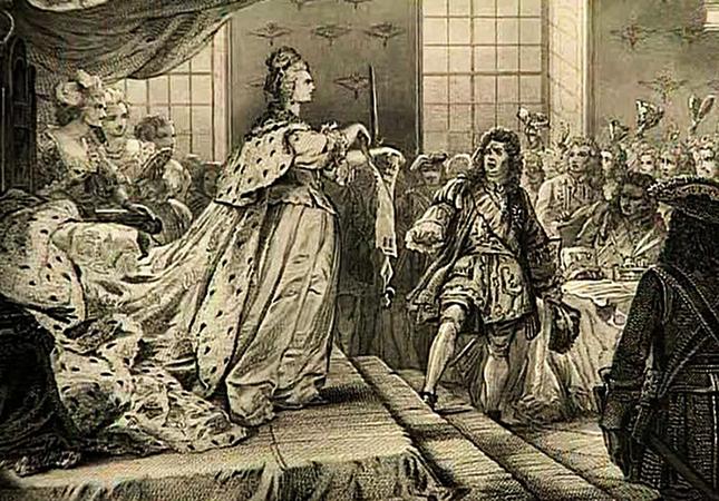 Анна на престоле
