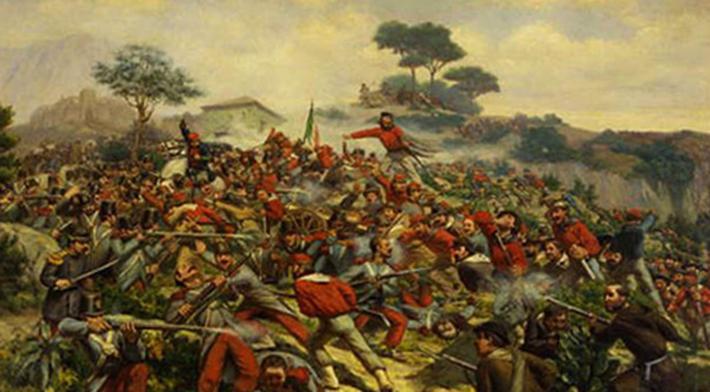 Битва во время объединения Италии