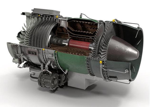 Большой турбореактивный двигатель