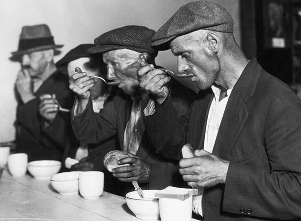 Люди во время кризиса 1929