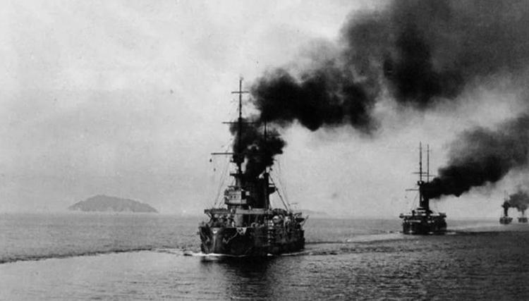 Цусимское морское сражение