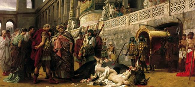 Гибель древнего Рима