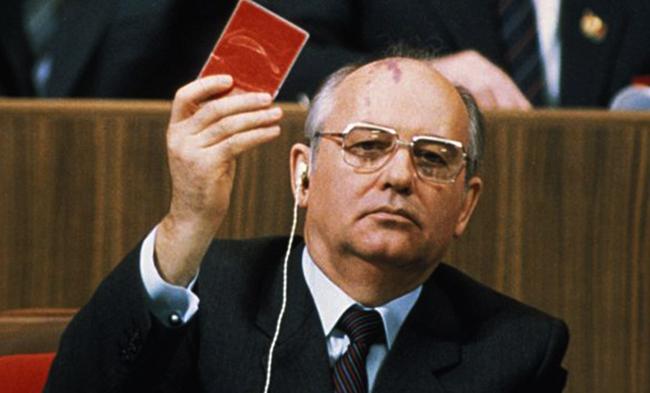 Горбачев в политике