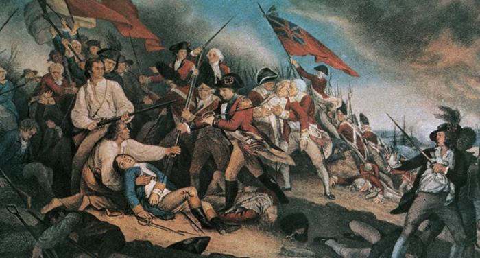 Ход войны за независимость