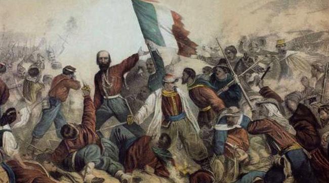 Во время объединения Италии