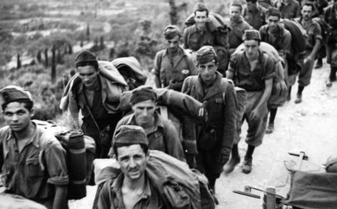 Итальянские солдаты